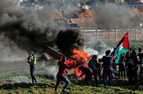 Mengenang Setahun Aksi Unjuk Rasa di Gaza