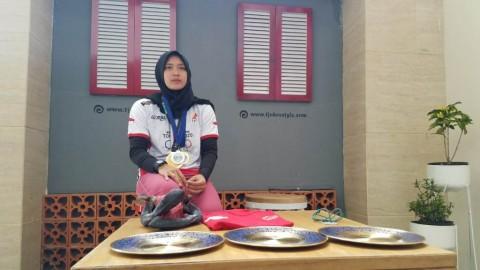 Aries Susanti Bertekad Bawa Indonesia Lolos Olimpiade Lewat Panjat Tebing