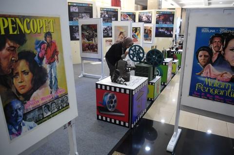 Antusias Warga Kunjungi Pameran Sejarah Perfilman Nasional