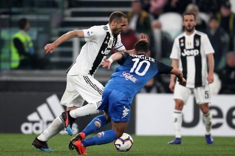 Juventus Susah Payah Taklukkan Empoli