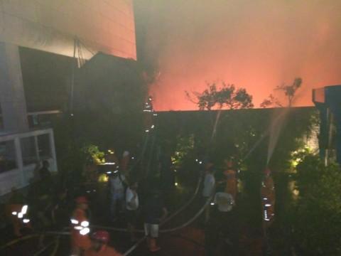 Permukiman Rumah di Mampang Terbakar