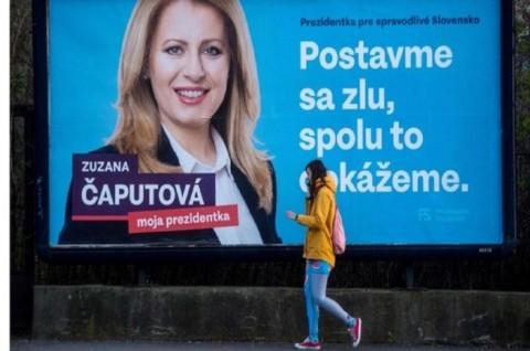 Zuzana Caputova Jadi Presiden Wanita Pertama Slovakia