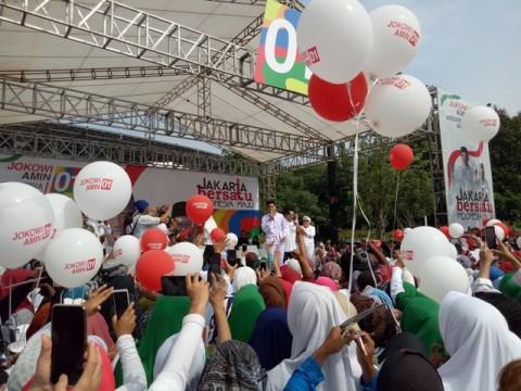Ma'ruf Amin Gelar Kampanye Akbar di Senayan