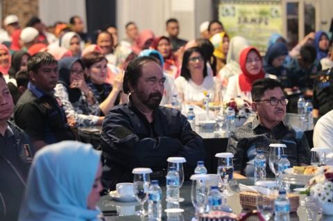 Surya Paloh Nilai Jokowi Lebih Percaya Diri Saat Debat