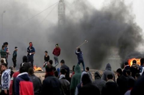 Puluhan Ribu Warga Palestina Peringati Demonstrasi 'Great Return'