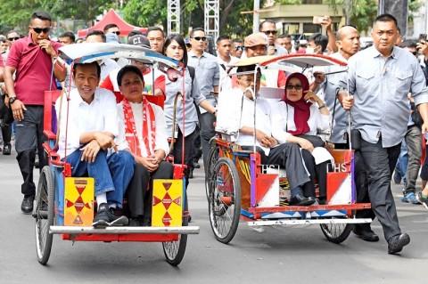 Jokowi-JK Ungkap Kekompakan Pimpin Indonesia