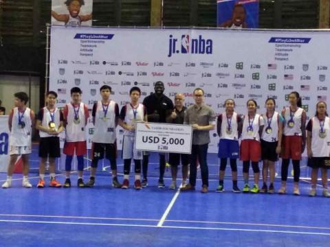 10 Talenta Muda Dapat Beasiswa Basket JrNBA