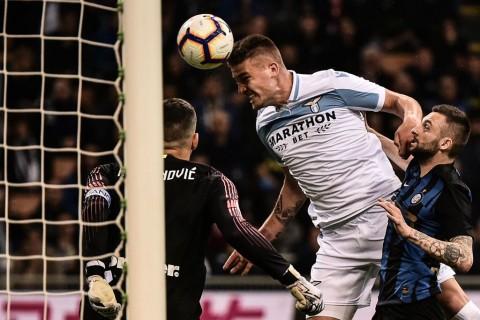 Gol Tunggal Milinkovic-Savic Bantu Lazio Kalahkan Inter