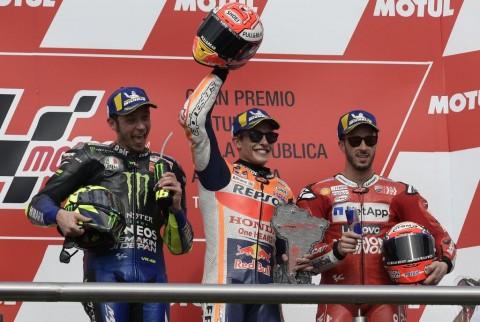 Klasemen Sementara setelah MotoGP Argentina: Rossi Masuk Tiga Besar