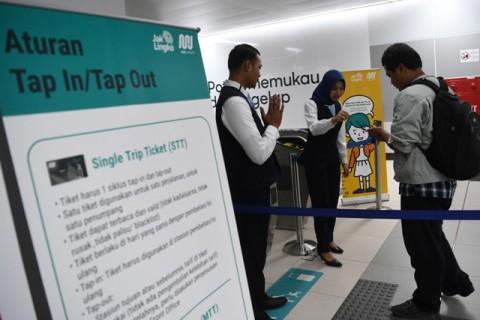 PT MRT Siapkan Tiga Kartu Pembayaran
