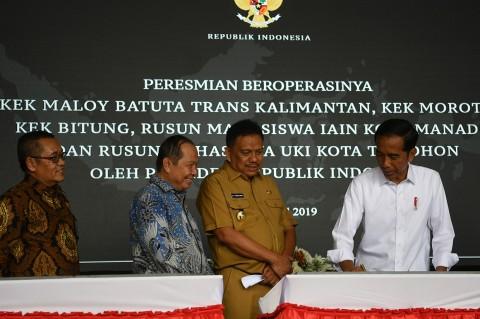 Jokowi Resmikan 3 Kawasan Ekonomi Khusus di Sulut