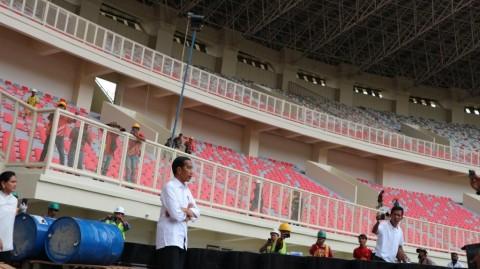 Presiden Nilai Kualitas Stadion Papua Bangkit Jempolan