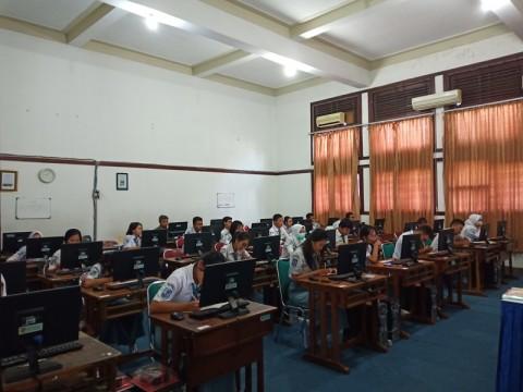 UNBK SMA Muhammadiyah 2 Semarang Ditunda Karena Virus Komputer