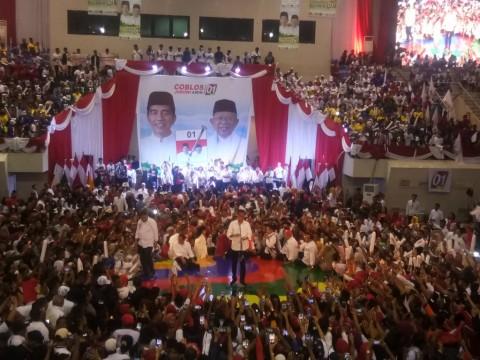 Jokowi Minta Masyarakat Sumsel Tak Golput