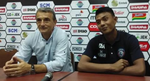 Reaksi Pelatih Arema Usai Bungkam Kalteng Putra