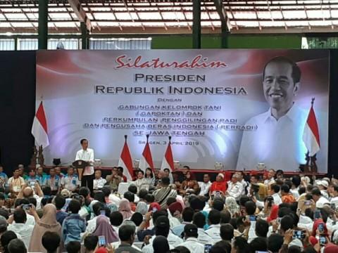Jokowi Ingatkan Pentingnya Modernisasi Alat Pertanian