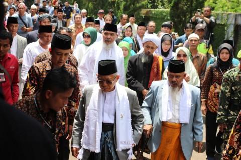 Kiai Ma'ruf Optimistis Target 70% Suara di Sukabumi Tercapai