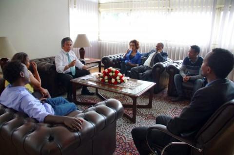 Wartawan Ethiopia Ingin Belajar kepada Indonesia