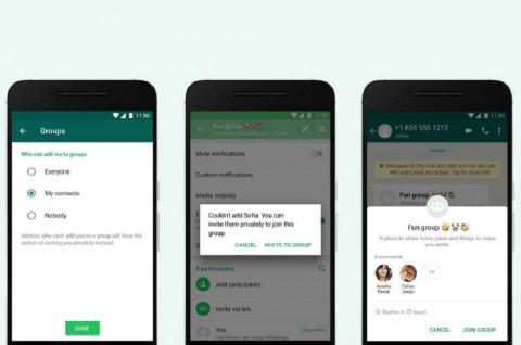 WhatsApp Gulirkan Fitur Privasi untuk Grup Chat
