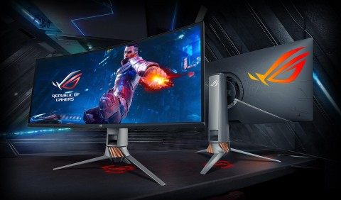 ASUS Rilis Monitor Lengkung Gaming 120Hz