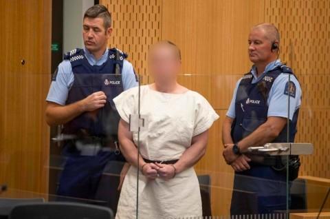 Pelaku Teror Selandia Baru Didakwa 50 Pembunuhan