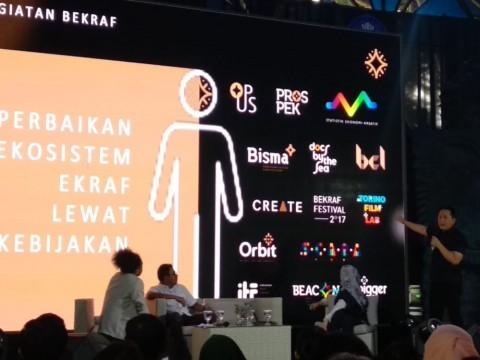 Bekraf Bekali Pelaku Ekonomi Kreatif Bandung