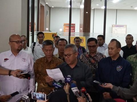 KPU Laporkan 3 Akun Medsos ke Bareskrim Polri