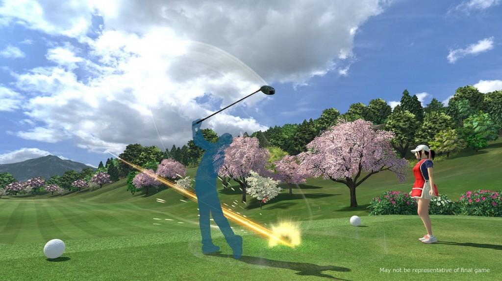 Game Everybody's Golf VR.