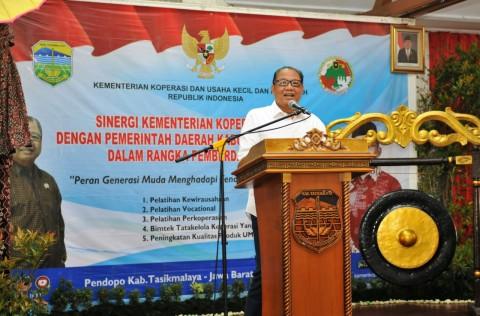 Kemenkop UKM Gelar Program Strategis di Tasikmalaya