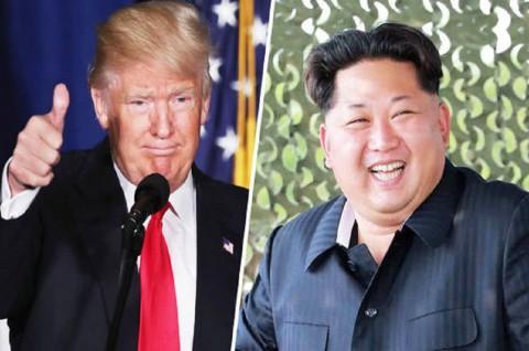 AS Yakin Pertemuan Ketiga Trump dan Kim akan Berlangsung
