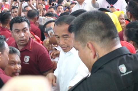 Jokowi Janji Kunjungi Asahan jika Target Suara Tercapai