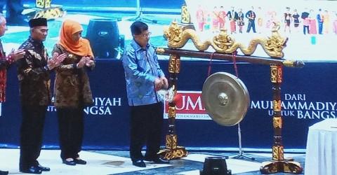 Jusuf Kalla Buka Festival Kebangsaan di Malang