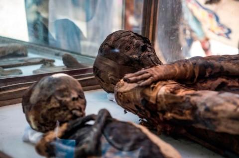 Makam Zaman Ptolemeus Ditemukan di Mesir
