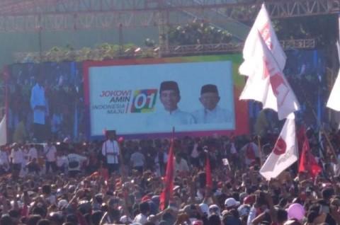 Jokowi Targetkan Menang Minimal 70% Suara di Batam