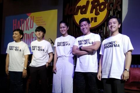 Jelang Pemilu 2019, Ruang Tengah Indonesia Rilis Video Musik Hatiku Indonesia