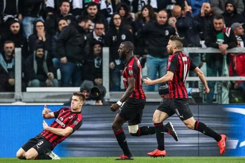 Piatek Bawa Milan Ungguli Juventus di Babak Pertama