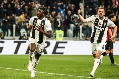 Kean Pimpin Juventus Permalukan AC Milan
