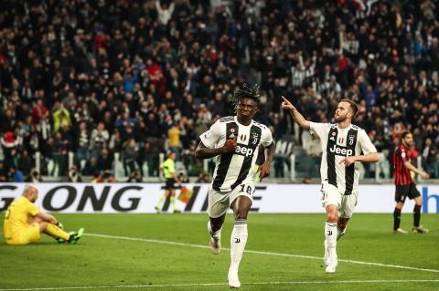 Juventus Kalahkan AC Milan 2-1