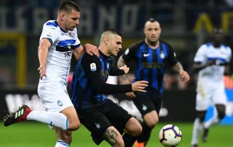 Inter Berbagi Angka dengan Atalanta
