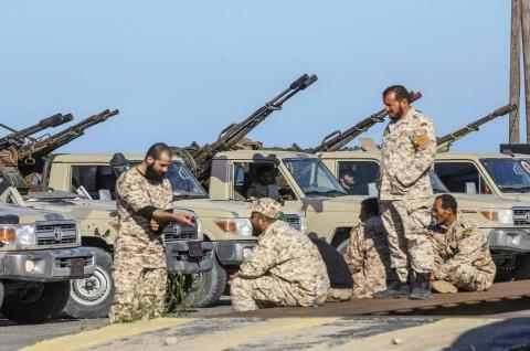 Pertempuran Dekat Tripoli Tewaskan 21 Orang