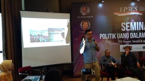 Politik Uang di Indonesia Disebut Terorganisasi