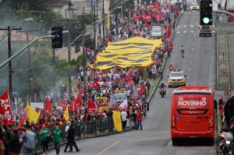Ribuan Orang Desak Pembebasan Mantan Presiden Brasil