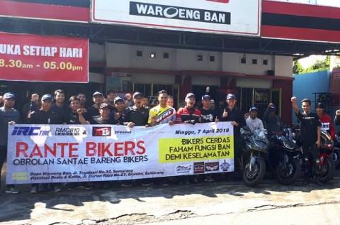 Bikers Semarang Antusias Ikuti Edukasi Soal Ban