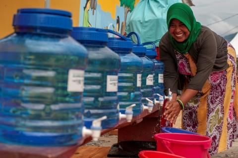 2030 Seluruh Indonesia Teraliri Air Bersih
