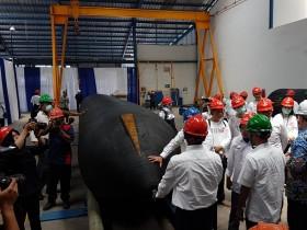Indonesia Sudah Bisa Produksi Bantalan Peluncur Kapal