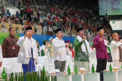 Ma'ruf Amin Hadiri Majelis Taklim Bersholawat di Istora Senayan