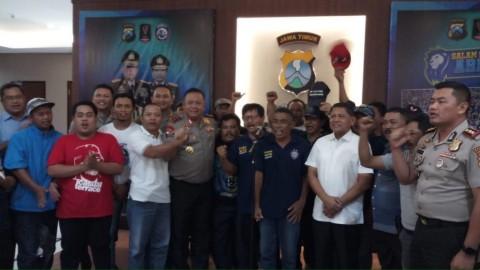 Suporter Aremania Jamin Final Piala Presiden Berjalan Lancar dan Kondusif