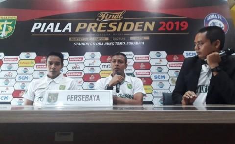 Semangat Persebaya Surabaya Berlipat Ganda Hadapi Arema