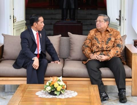 Jokowi Puji Surat SBY kepada Prabowo