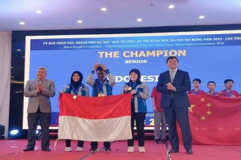 9 Pelajar RI Sabet Medali di Olimpiade Matematika Vietnam